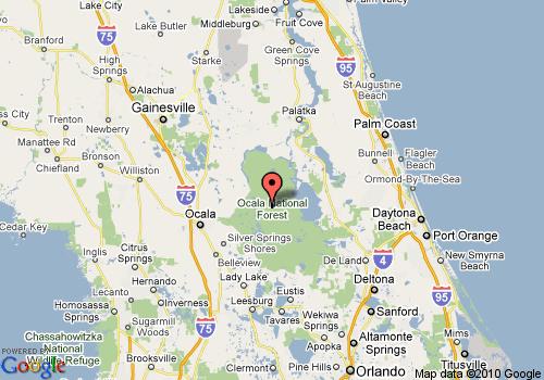 Fun MillDamLakeResortcom MillDamLakeResortcom - Ocala florida map